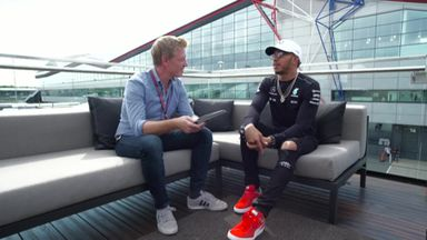 Lewis speaks to Simon