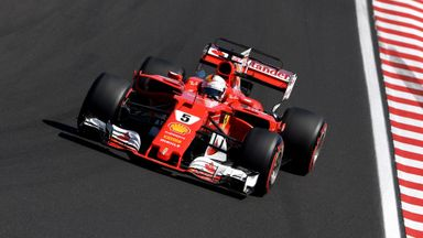 Vettel on pole for Hungary