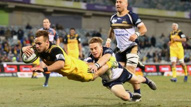Brumbies 16-35 Hurricanes