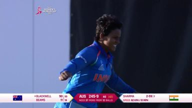 WWC: India v Australia highlights