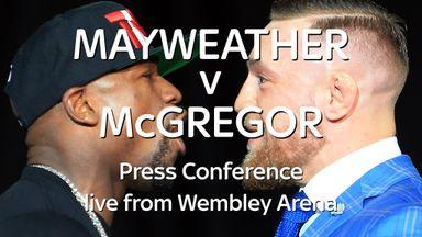 Mayweather v McGregor London preview