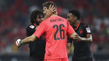 Bayern 1-1 Arsenal (2-3 pens)