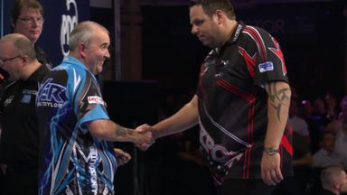 World Matchplay: Moment of the semis