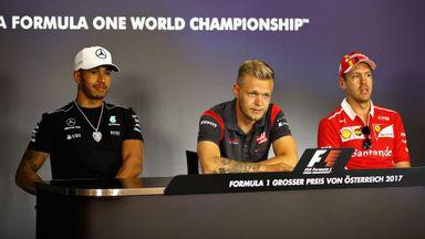 Driver Press Conference - Austria