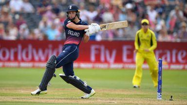England v Australia - Women's ICC