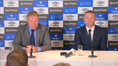 Koeman: Rooney to play offensively