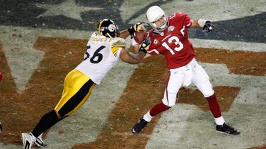Super Bowl Gold: Steelers v Cards