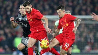 Lallana unsurprised by Coutinho interest