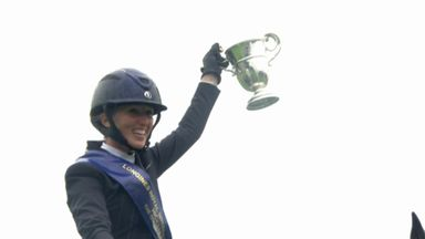 Nuttall wins Queen Elizabeth II Cup
