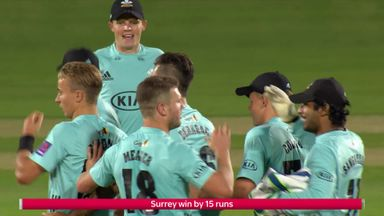 Surrey v Middlesex  Highlights