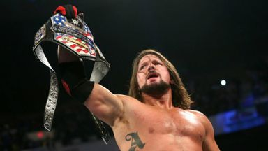 Styles regains United States Title