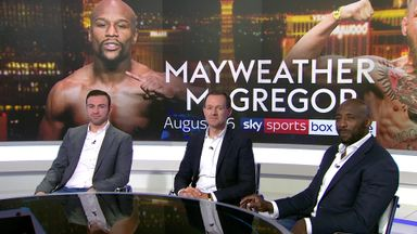 Mayweather v McGregor on Sky