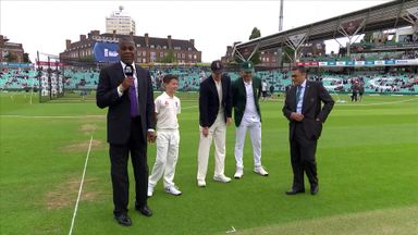 England v South Africa - 3rd Test Toss