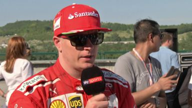 Kimi pleased with team 1-2
