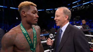 Charlo halts injured Heiland