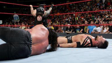 Wyatt ambushes Balor
