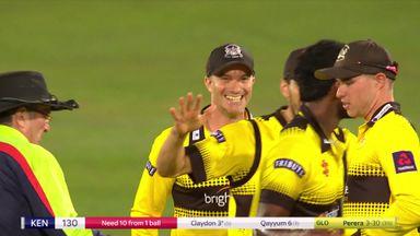 T20 Blast: Glos beat Kent