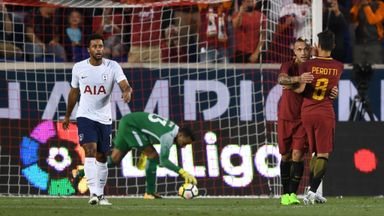 Spurs 2-2 Roma Highlights