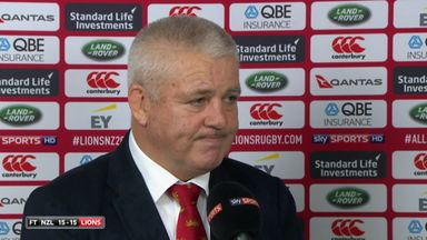 Gatland: Fair result in the end