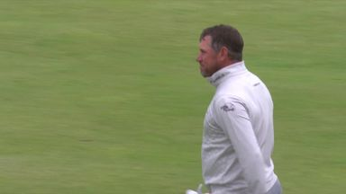 Westwood holes out for eagle