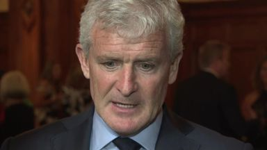 Hughes rules out expensive signings