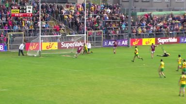 Galway v Donegal: Highlights