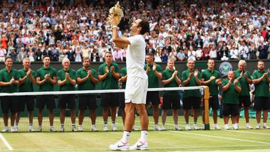 'Federer the greatest of all time'