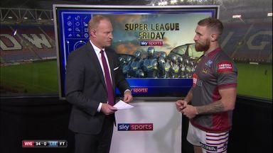 Tomkins analyses Wigan win