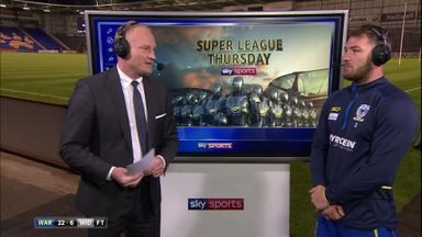 Clark analyses Warrington win