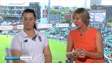 Tammy Beaumont & Clare Connor Interview