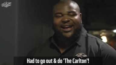 Brandon Williams does 'The Carlton' dance!