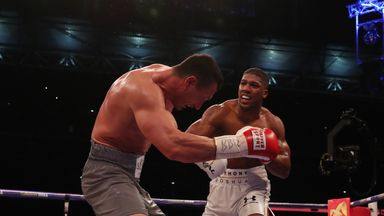 Joshua: Fight with Klitschko was inspiring