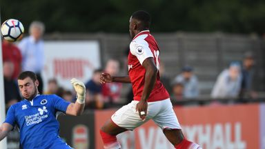 Boreham Wood 0-4 Arsenal XI