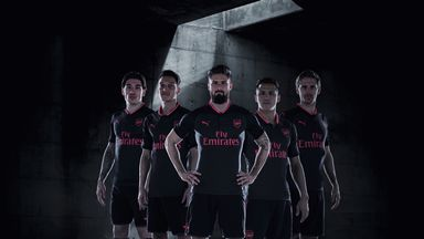 Arsenal launch new third kit