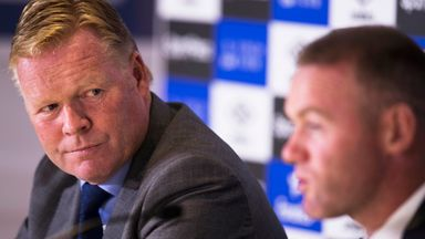 Koeman: Rooney will play offensively