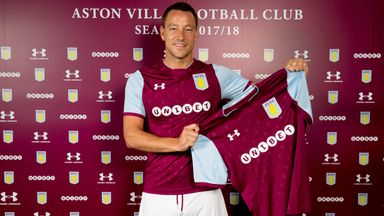 Aston Villa sign John Terry