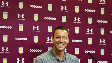 Terry 'delighted' to join Villa