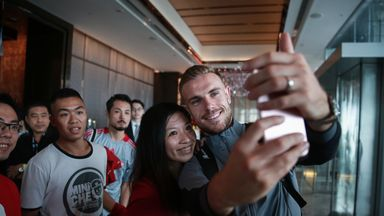 Liverpool mobbed in Asia