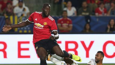 Jose pleased with Lukaku debut