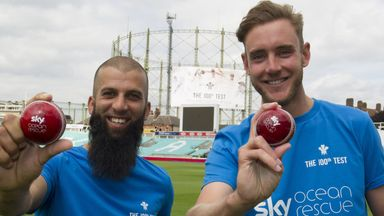 Moeen Ali backs Sky Ocean Rescue