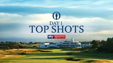 The Open, Day 1 - Top shots