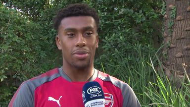 Iwobi excited by Lacazette arrival