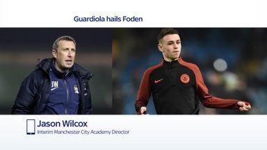 Wilcox: Academy so proud of Foden
