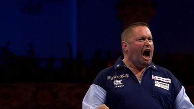World Matchplay Day 5: Moment of the night