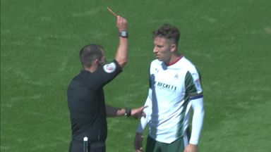Double red card at Bramall Lane!