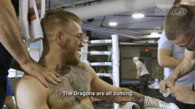 Behind the scenes with Conor McGregor