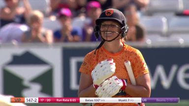 Bates hits first KSL century