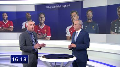 Liverpool v Arsenal: Highest finish?