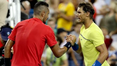 Nadal v Kyrgios: Highlights