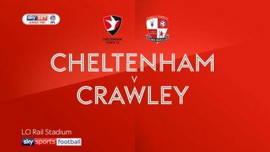 Cheltenham 1-0 Crawley